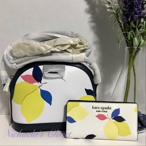 Kate Spade dome and wallet bundle